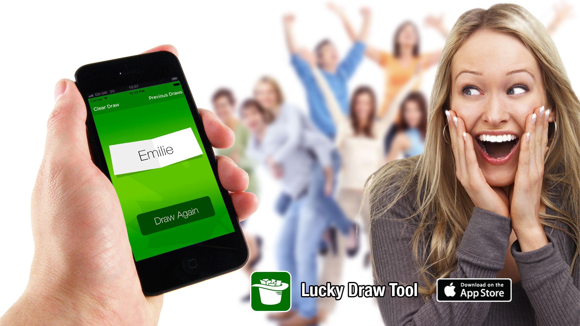 Best Lucky Draw iOS App   Lucky Draw Tool